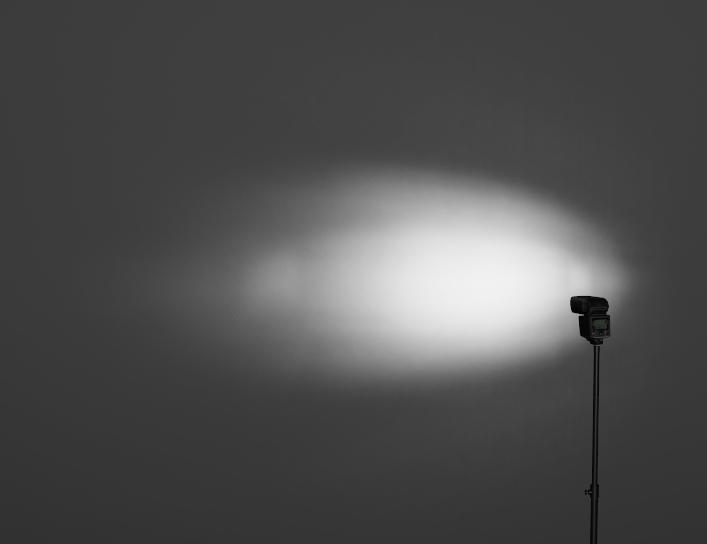 ストロボ照射角望遠画像